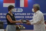 Menteri Kelautan Prancis Annick Girardin apresiasi hasil riset kelautan Indonesia