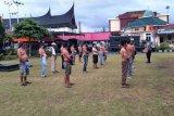 Polresta Padang jaring belasan orang dalam razia premanisme di Pasar Raya