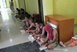 Tim gabungan tangkap 18 preman terkait kejahatan di Musi Rawas Utara