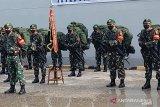 400 prajurit Satgas Yonif 315/Garuda bertugas di Papua selama 9 bulan