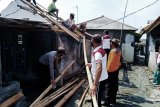 Kecamatan Pasir Sakti Lampung Timur diterjang puting beliung