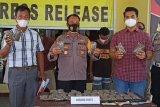 Empat pengedar beserta 38 paket ganja diamankan di Keerom