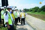 Menteri PUPR optimistis proyek Pintu Air Demangan Surakarta tuntas 2021