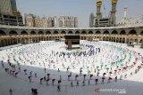 Arab Saudi setujui rencana keamanan pada musim Haji 2021