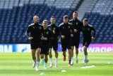 Patrik Schick membawa Ceko raih kemenangan 2-0 atas Skotlandia