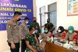Polda Lampung gandeng Lanal laksanakan vaksinasi COVID-19