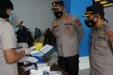 Urkes Polresrabes Makassar target 800 warga di vaksinasi