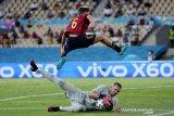 Kiper Robin Olsen paksa Spanyol telan hasil nirgol kontra Swedia
