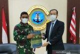 Kepala Kantor Konsuler Jepang temui Danlantamal VI