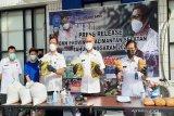 BNN Kalsel ungkap peredaran delapan kilogram sabu-sabu di karung beras