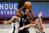 49 poin Kevin Durant bawa Nets pimpin 3-2  semifinal Wilayah Timur