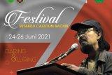 Festival Sutardji Calzoum Bachri  akan digelar pada 24-26 Juni