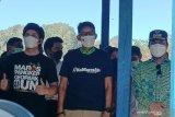 Sandiaga Uno dan Atta Halilintar berkunjung ke Wisata Karst Rammang-rammang