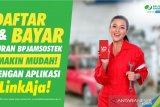 BPJAMSOSTEK Sulut sosialisasikan penggunaan LinkAja daftar-bayar iuran