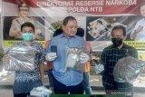 Polda NTB menangkap dua mahasiswa kuasai tiga kilogram ganja