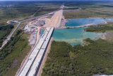 Hutama Karya targetkan Tol Indraraya-Prabumulih rampung tahun 2022