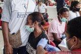 KONI Papua gelar vaksinasi bagi atlet dan pelatih PON XX