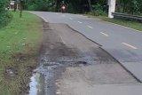 Warga Majene keluhkan jalan rusak di jalur transSulawesi