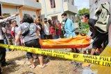 Kronologi seorang pria tewas di bangunan sarang walet di Murung Raya