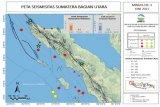 BMKG catat pada pekan ketiga Juni 2021 terjadi 26 gempa di Sumut-Aceh