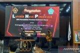 BPK Sulut serahkan LHPK tujuh Parpol di Sangihe