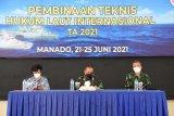 Lantamal VIII gelar pelatihan hukum laut internasional