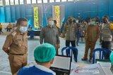 Wabup Mura pantau langsung percepatan vaksinasi di Tanah Siang