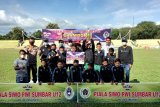 SSB PSTS Tabing A Juara Piala Siwo PWI Sumbar U-12