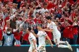 Menang besar 4-1, Denmark lolos ke 16 besar