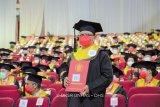 Rektor Unhan dan Kepala LLDIKTI IX menghadiri wisuda insinyur di Unhas
