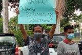 Kasus penembakan wartawan, jurnalisLotimgelar aksi solidaritas