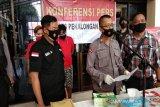 Polresta Pekalongan bekuk dua tersangka narkoba