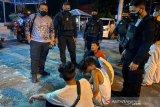 Polda Kalteng tangkap empat pemalak di Palangka Raya