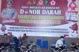 Polres Ogan Komering Ulu gelar donor darah massal