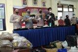 Wanita produsen narkotika tembakau sintetis ditangkap