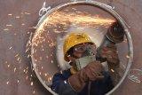 Produksi baja dunia naik, permintaan China melemah