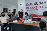 PT CPM  libatkan Polda Sulteng vaksinasi COVID-19 karyawan