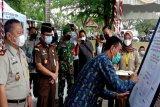 Wabup Barut teken pencanangan zona integritas BPN