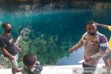 Seorang wanita tewas usai berenang di wisata Danau Biru Kolut