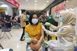 Antusiasme warga Palangka Raya ikuti vaksinasi massal