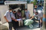 Bank sampah Makassar mampu kumpulkan 374 kilogram dari pasar tradisional