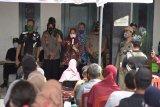 1.200 pedagang pasar tradisional di Sleman ikut vaksinasi COVID-19