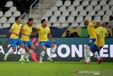 Copa America 2021 - Casemiro pastikan Brazil menang 2-1 atas Kolombia