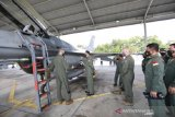 Kasau Marsekal TNI Fadjar Prasetyo tinjau latihan bersama TNI AU dengan Amerika Serikat