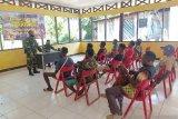 Satgas TNI Yonif 512 sosialisasi pencegahan narkoba di perbatasan RI-PNG