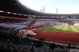 Personel gabungan TNI-Polri amankan laga perdana Liga 1 di GBK
