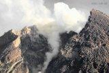 Gunung Merapi kembali meluncurkan awan panas guguran ke tenggara