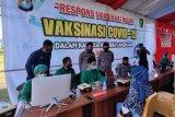 Warga antusias ikuti sejuta vaksinasi COVID-19 di Mamuju