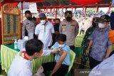 Vaksinasi massal digelar di Stadion M. Sarengat Batang