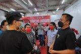 Wakil Wali Kota Manado tinjau pelaksanaan vaksinasi massal di Megamall Manado
